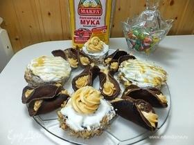 Мини-тортики на сковороде
