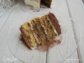 Бисквитный торт «Тирамису»