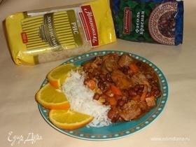 Рагу с мясом и фасолью по мотивам «Фейжоады»