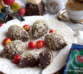 Пирожные из чечевицы «Ежики»