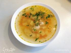 Куриный суп с картофелем