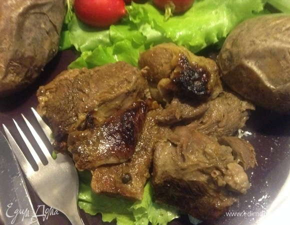 Мясо томленое «Морозная февральская ночь»