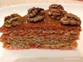 Вафельный торт «Вкус детства»