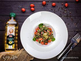 Итальянский салат с баклажанами