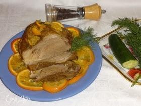 Свинина с апельсинами