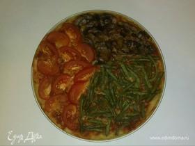 Пицца «Разноцветная»