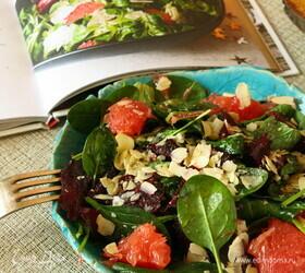 Салат с грейпфрутом и свеклой
