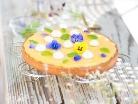 Тарт с лимоном и маракуйей