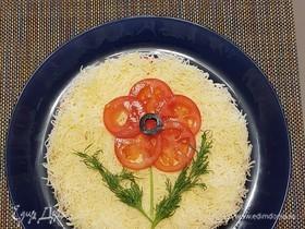 Салат «Красный мак»