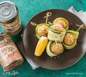 Закусочные шарики из тунца