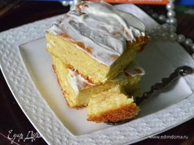 Овсяно-творожный пирог