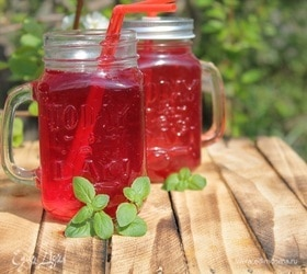 Напиток из ревеня