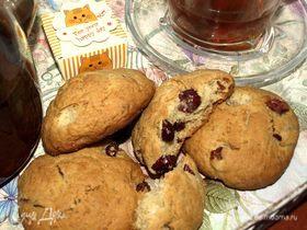 Печенье с клюквой и виски