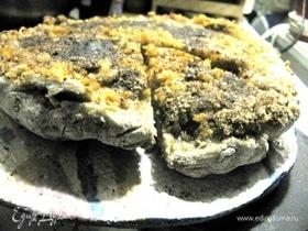 Европейский пирог с цедрой и корицей
