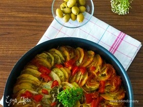 Бриам (греческое овощное рагу)