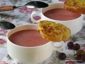 Суп из крыжовника десертный