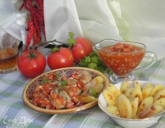 Тефтели с летним соусом