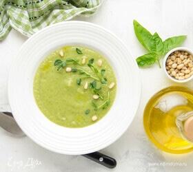 Суп-пюре с кабачком и брокколи