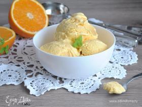 Тыквенно-апельсиновое мороженое