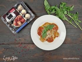 Паста с митболами и томатным соусом