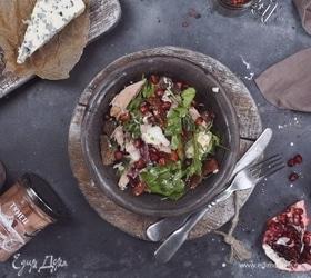 Салат с тунцом и горгонзолой