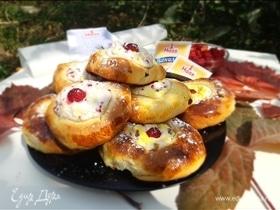 Ванильно-ягодные ватрушки