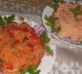 Витаминный салат с репой