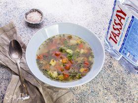 Осенний овощной суп