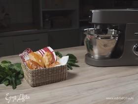 Пирожки с яйцом и шпинатом