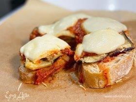 Итальянский бутерброд «Пармиджана»