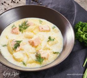 Финский суп «Лохикейто»