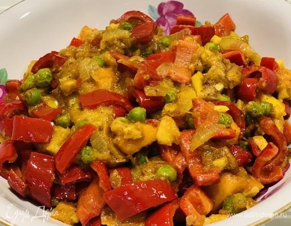 Пряное овощное рагу «Краски осени»