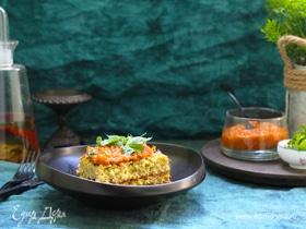 Запеканка из кабачков с сыром и помидорами