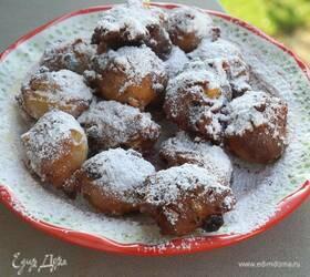 Венецианские пончики, жаренные в арахисовом масле