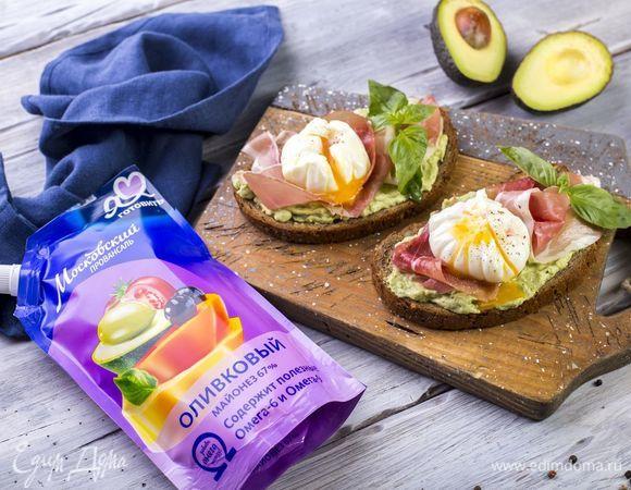 Аппетитные бутерброды на завтрак