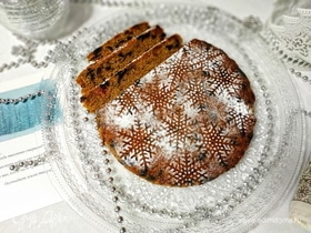 Рождественский кекс по мотивам Эмили Дикинсон