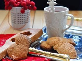 Рождественское печенье Spekulatius