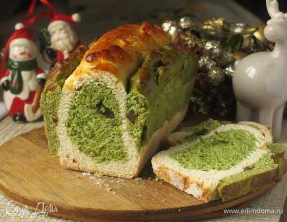 Десертный хлеб «Елки»