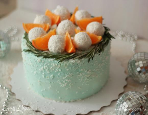 Торт «Зимние чудеса»