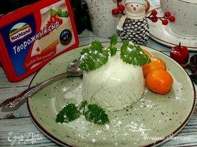 Творожно-мятный десерт
