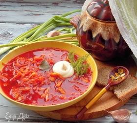 Овощной суп а-ля борщ