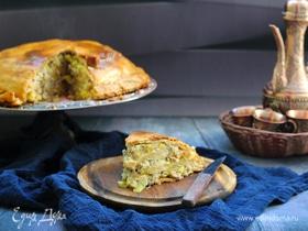 Лезгинский пирог цкен (цкан)