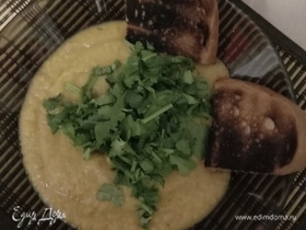 Овощной суп-пюре из двух видов капусты