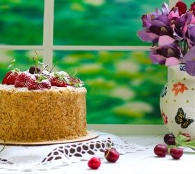 Торт «Степка-растрепка»