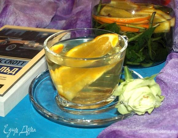 Апельсиново-мятный напиток