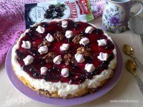 Торт без выпечки «Лакомый кусочек»