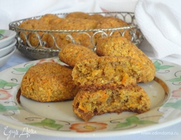 Морковно-злаковое печенье