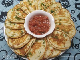 Оладьи с плавленым сыром