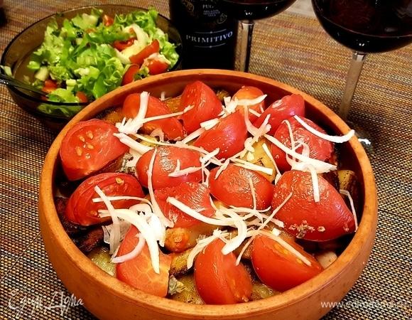 Индейка с картошкой по-грузински