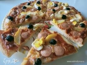 Тесто для пиццы с семолиной